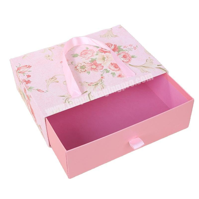 Factory made creative packaging sustainable packaging square gift box