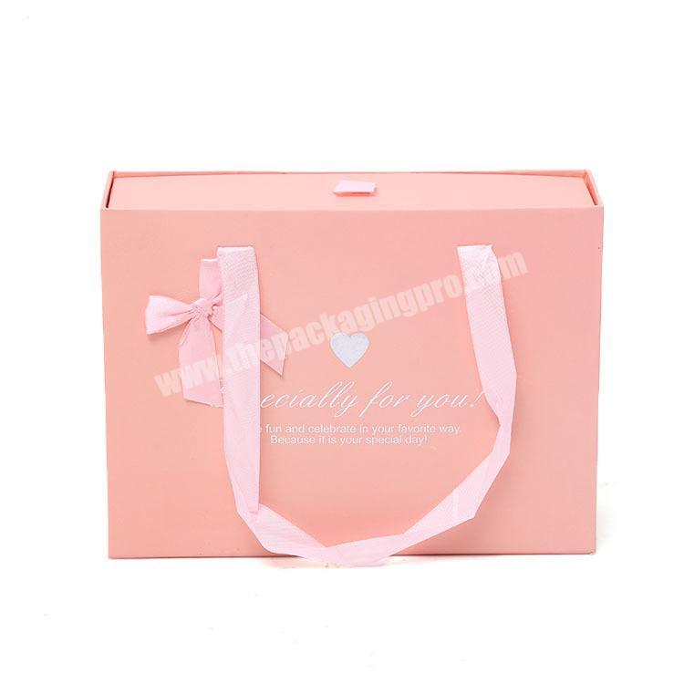 Factory made gift box dresses drawer gift box slide out gift box