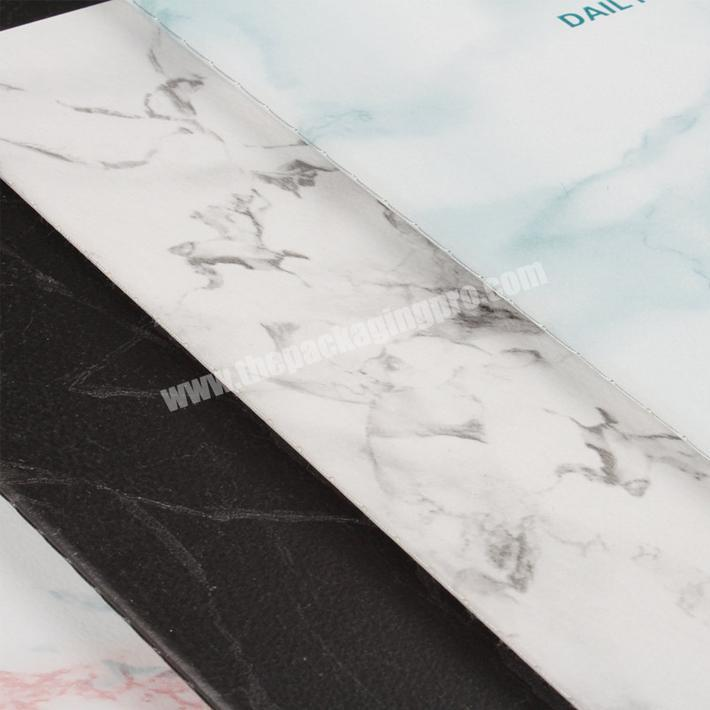 Manufacturer Factory price A5 marble printing softcover traveler's notebook