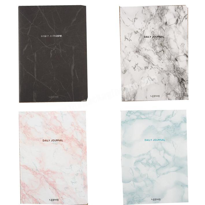Wholesale Factory price A5 marble printing softcover traveler's notebook