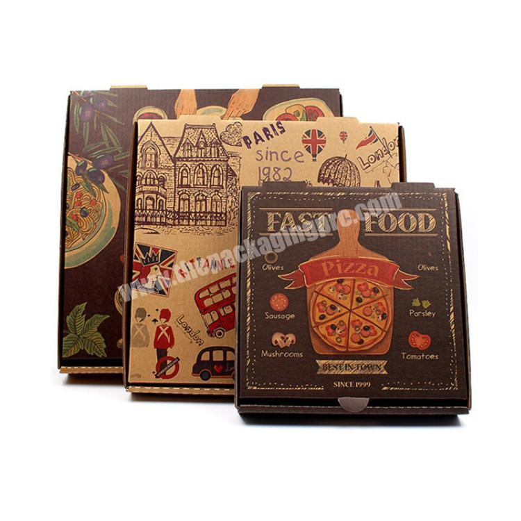 Factory Price Custom Logo Top Quality Corrugated Pizza Box