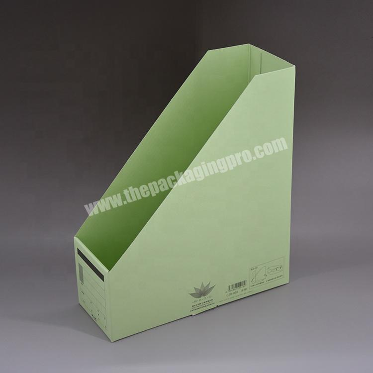 Factory Factory price Wholesale custom Paper stationery rack storage rack vertical file frame for Office for school