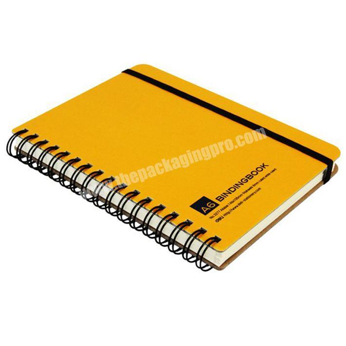 Factory supply paper spiral notebook hardcover notebook wholesale