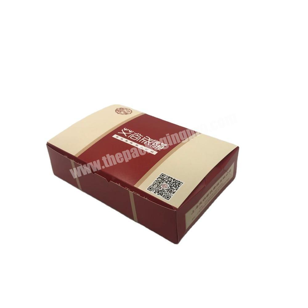 Factory wholesale high quality design gift cardboard packaging box