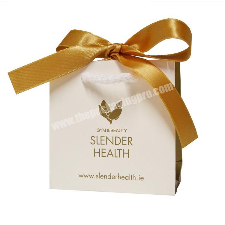 Fancy Custom Jewelry Packing Luxury Design Small Packaging Bags With Logo