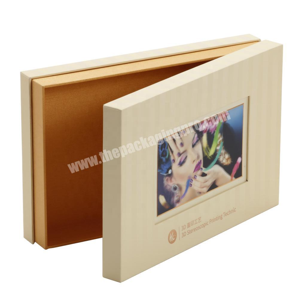 Shop Fancy Fashion High Quality Pedestal Paper Box with 3D Stereoscopic Vision Printing for GiftCigar