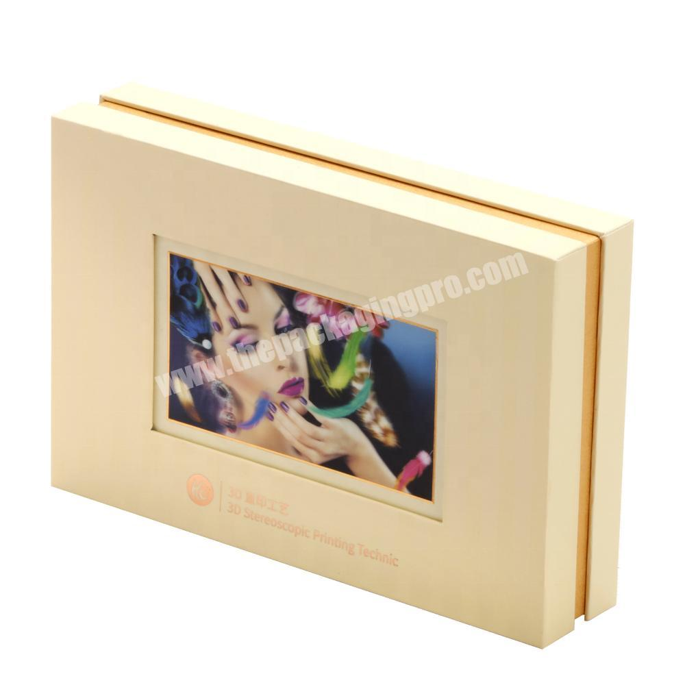 Wholesale Fancy Fashion High Quality Pedestal Paper Box with 3D Stereoscopic Vision Printing for GiftCigar