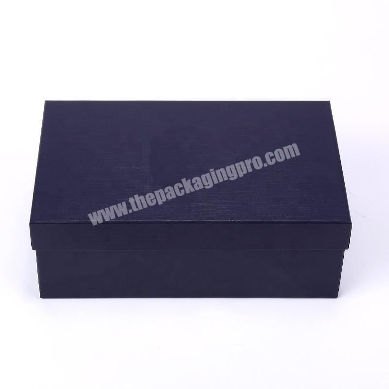 Fashion cardboard paper shoes packing box