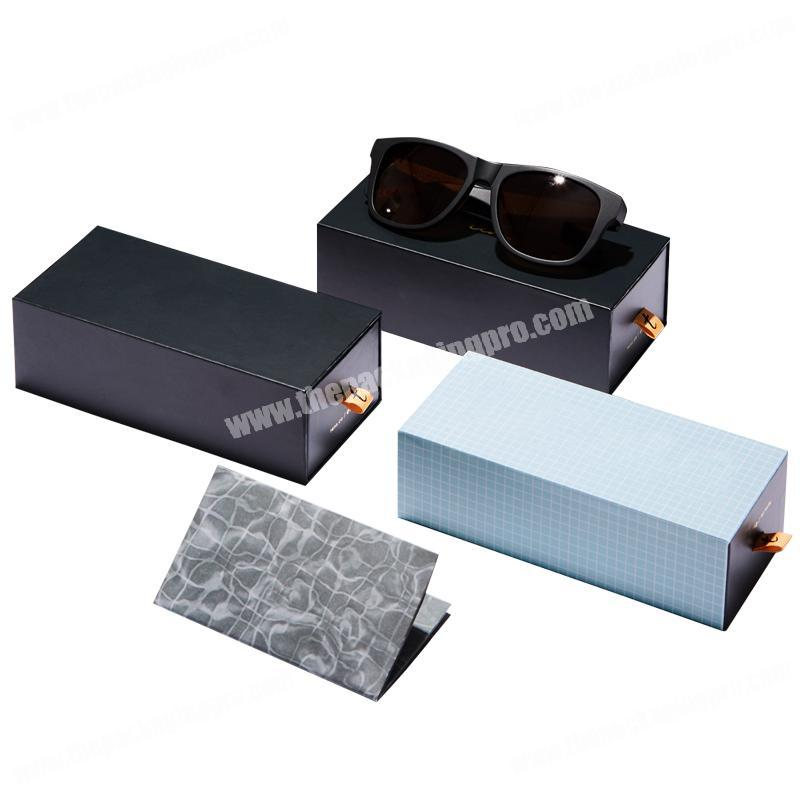 Fashion Luxury Cardboard   Drawer Packaging   Men's Sunglasses Packaging Paper Gift Box