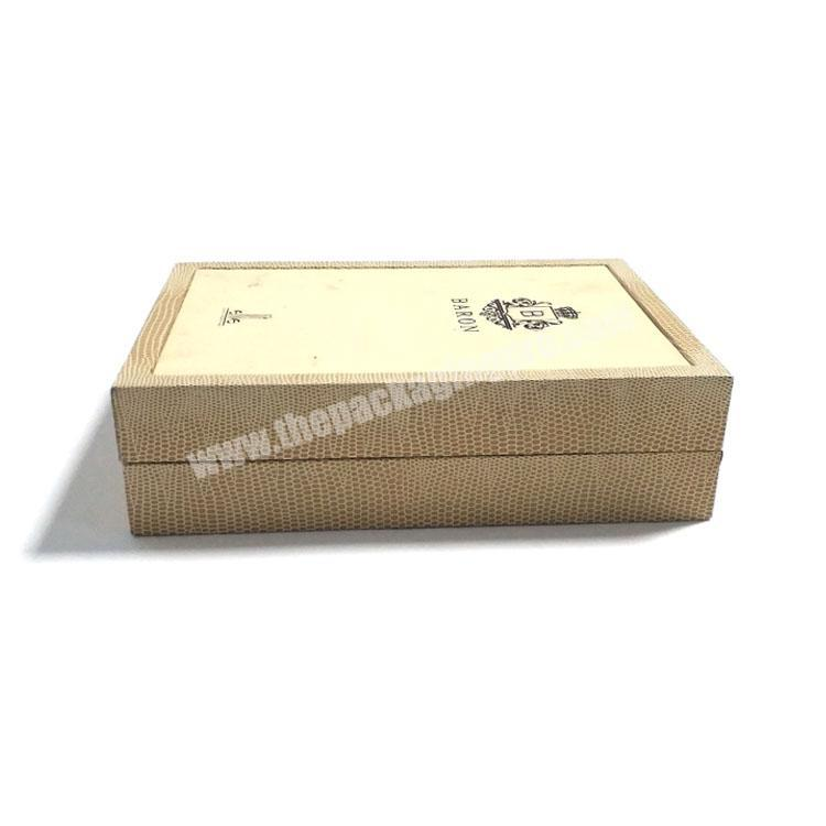 Feature High Quality Paperboard Perfume Packing Box Foil Stamping Custom Logo