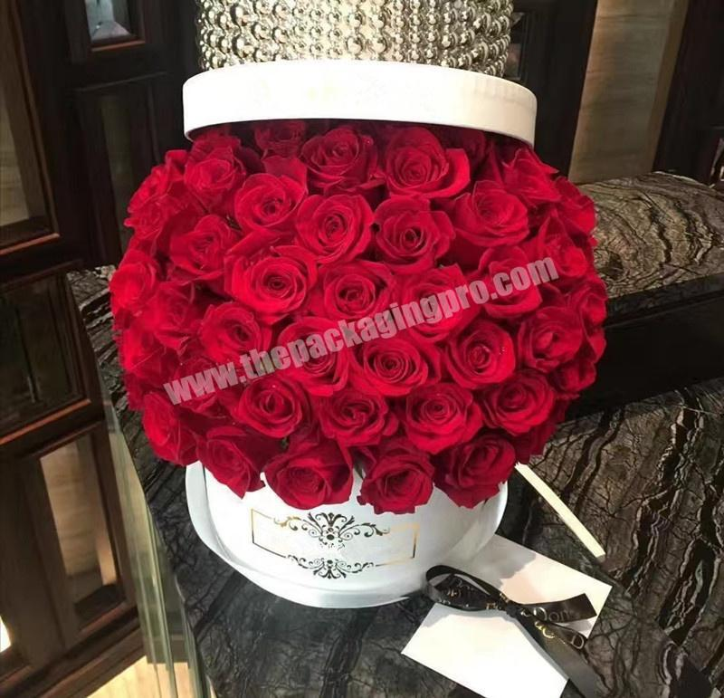 flower round box hat boxes wholesale flower boxes for roses