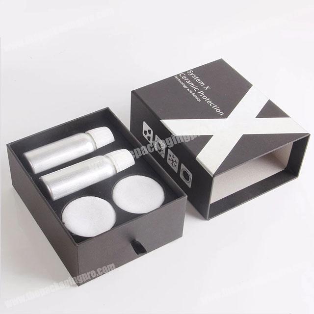 Wholesale foam insert fancy drawer cardboard cosmetic packaging box