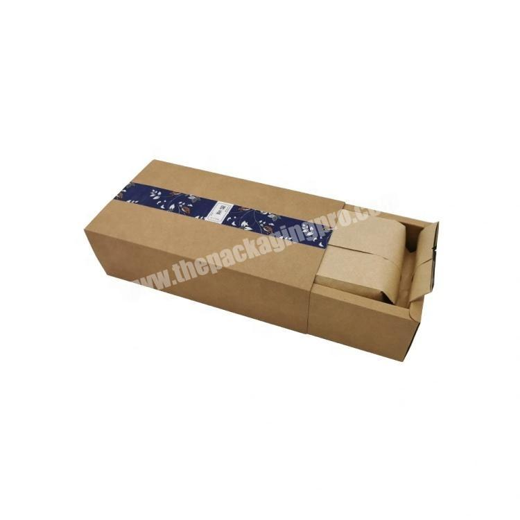 Manufacturer Four Color Print Craft Paper Folding Box Coffee Packaging Box