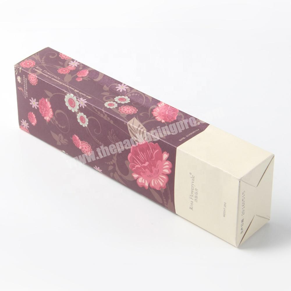 Wholesale free design service spray bottle box packaging template