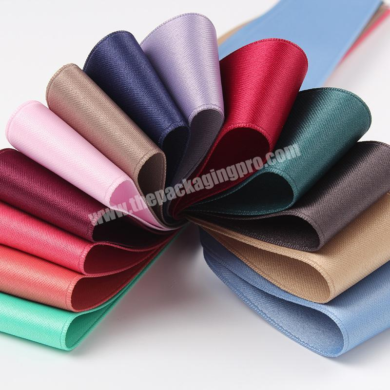 free sample  4 inch wholesale  handmade brown grosgrain ribbon for all occasion