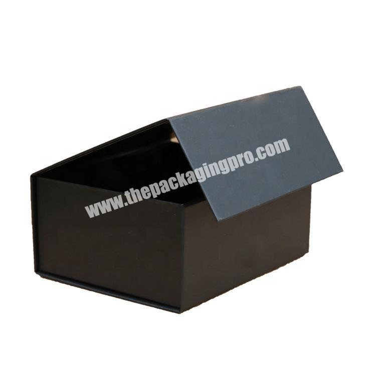 Full color printed flip top boxes with magnetic catch