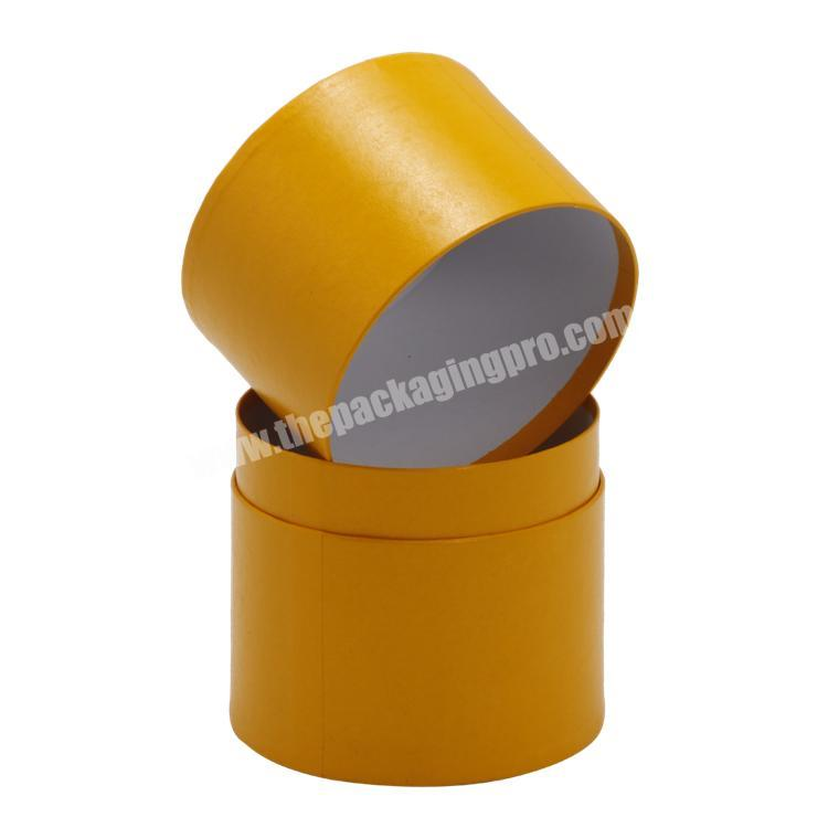 Wholesale Full Colors Printing Round Cylinder Tube Paper Box with Pedestal for Health ProductChemicalPerfume