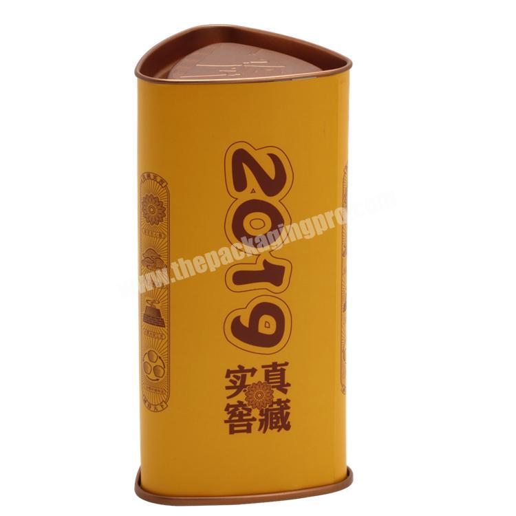 Manufacturer Full Colors Printing Round Cylinder Tube Paper Box with Pedestal for Health ProductChemicalPerfume