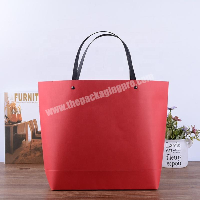 Gaodi Packaging Expert Supply Promotional Custom Logo Printed Luxury Paper Bag Shopping Gift Paper Bag