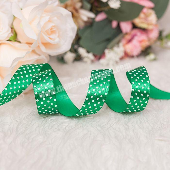 Gift Satin Ribbon 100% Polyester In Stock For Gift Box Packing