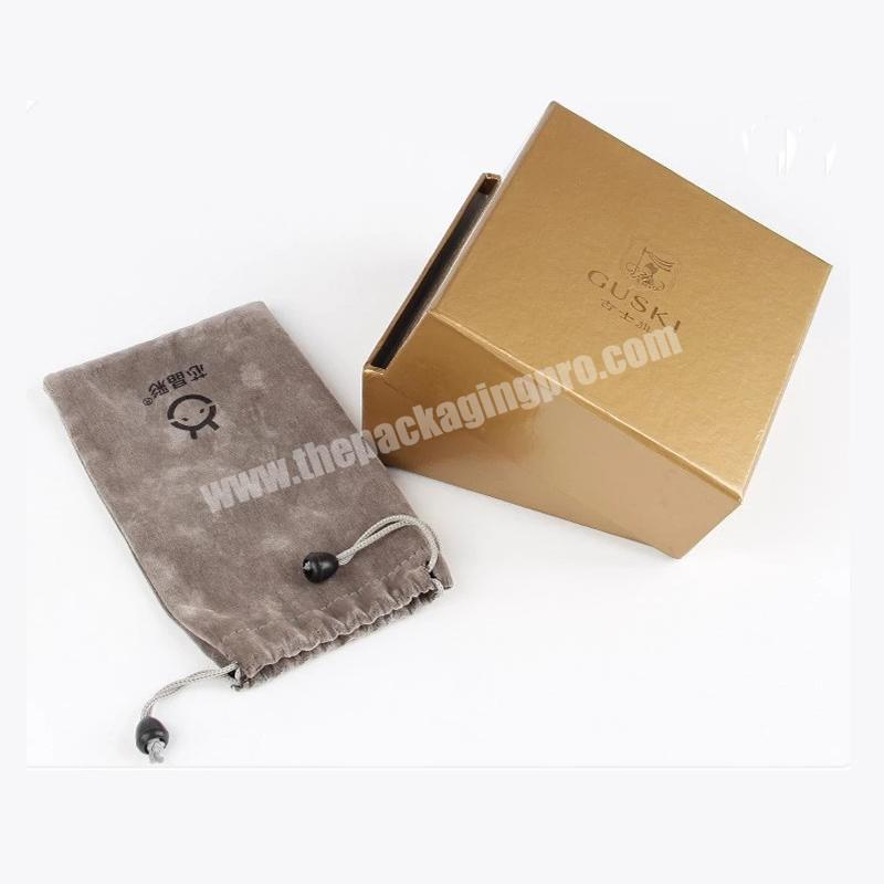 gold hot stamping cosmetic box packaging for essential oil