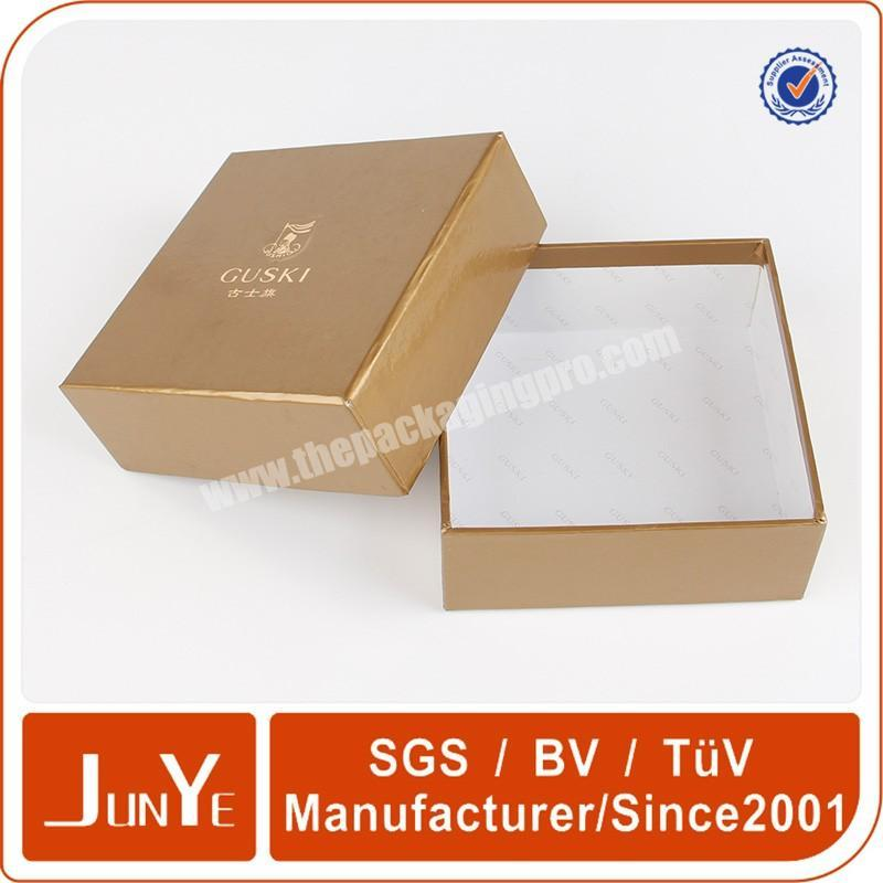 Shop gold hot stamping cosmetic box packaging for essential oil