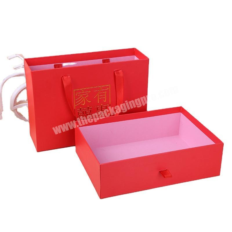 Good quality factory directly drawer gift box packaging custom paper box gift