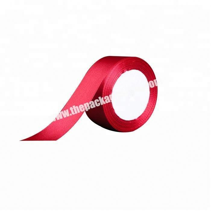 Manufacturer good quality party pleated satin ribbon sash trim