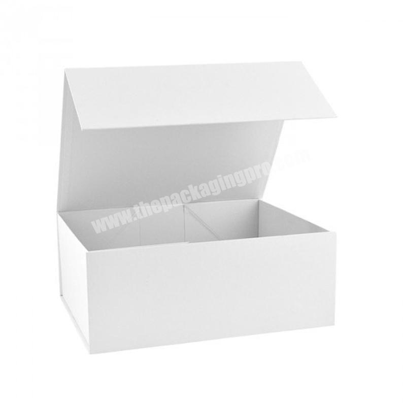 Handmade white Magnetic Gift Boxes Gift Packaging Gift boxes with lids