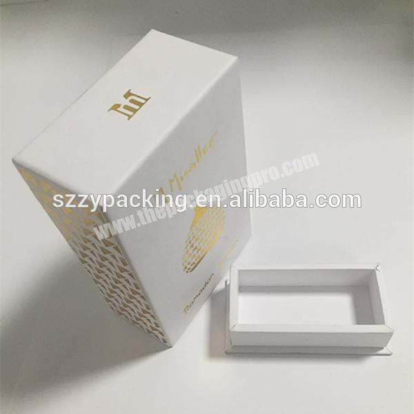 Hard paper gift box customized gift box package for perfume