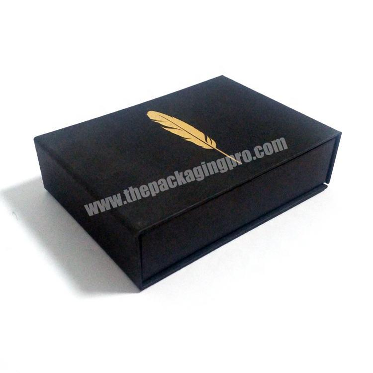 High-End Custom Decoration Cardboard Paper Packaging Card Gift Box With Magnetic