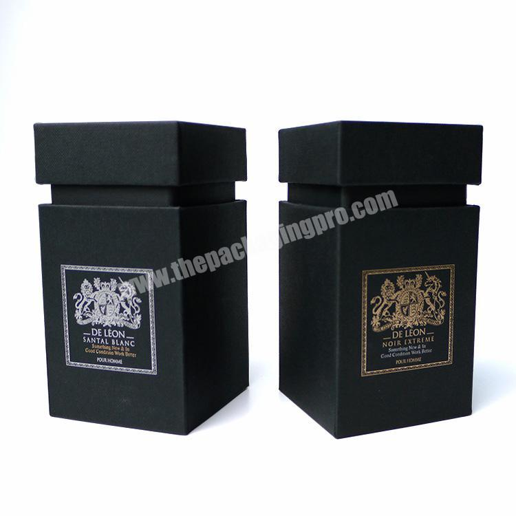 High-end custom logo printed perfume fragrance packaging cardboard gift box with logo