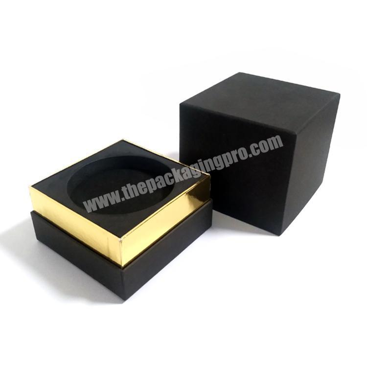 Factory High end customized 10ml black perfume box