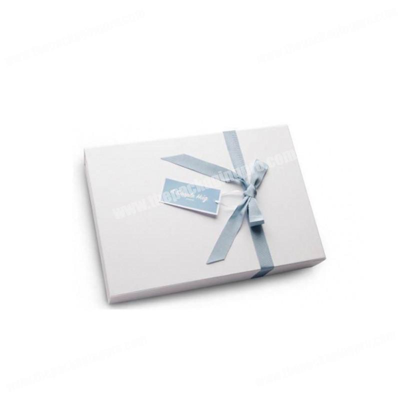 High end eco friendly cardboard paper baby gift packaging box