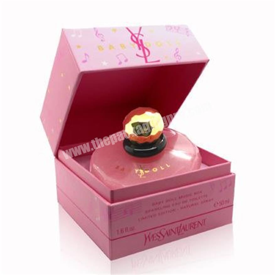 High-grade perfume box, simple perfume box, Valentine's Day perfume box