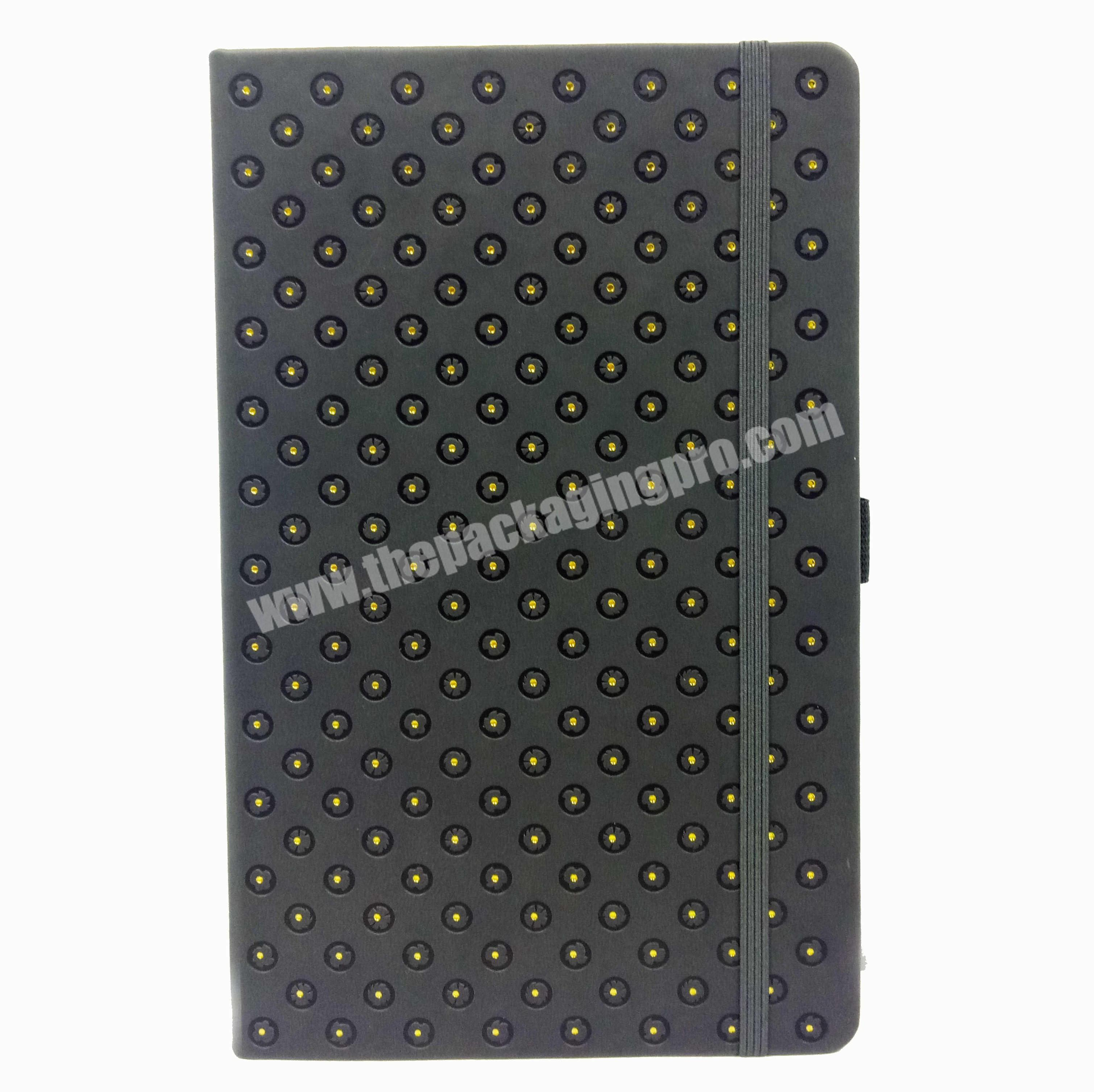 High quality business notebook wholesale custom planner leather cover diary