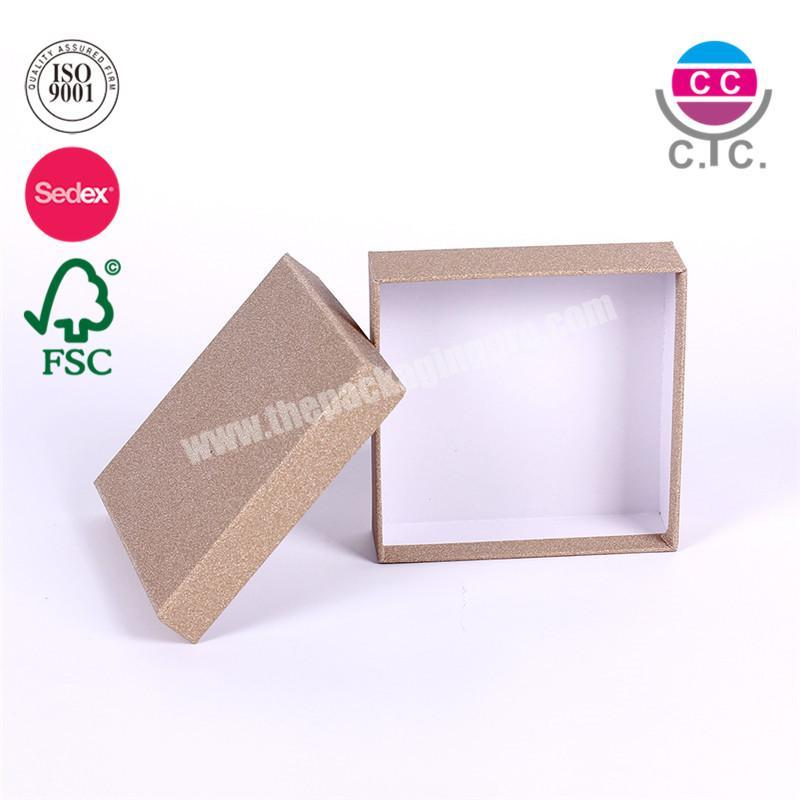 high quality cardboard paper box sets wholesale for clothes