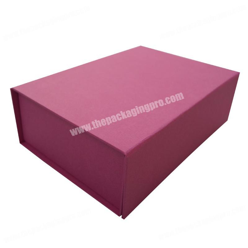 High quality custom cardboard paper printing foldable magnetic clothings packaging gift box with your logo