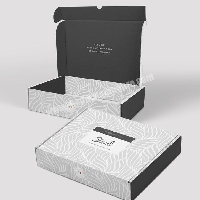 Supplier High quality Custom Logo White Foldable Paper Packaging Box Rigid Gift Box with Ribbon Bow