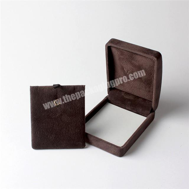 High Quality Custom Made Black Design Necklace Packaging Gift Paper Jewelry Box