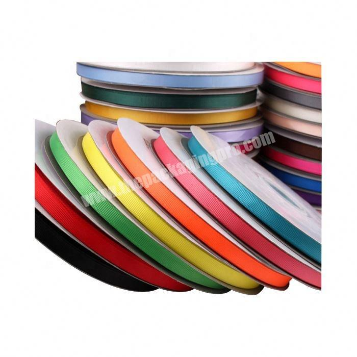 Supplier High quality custom packing 75mm grosgrain ribbon