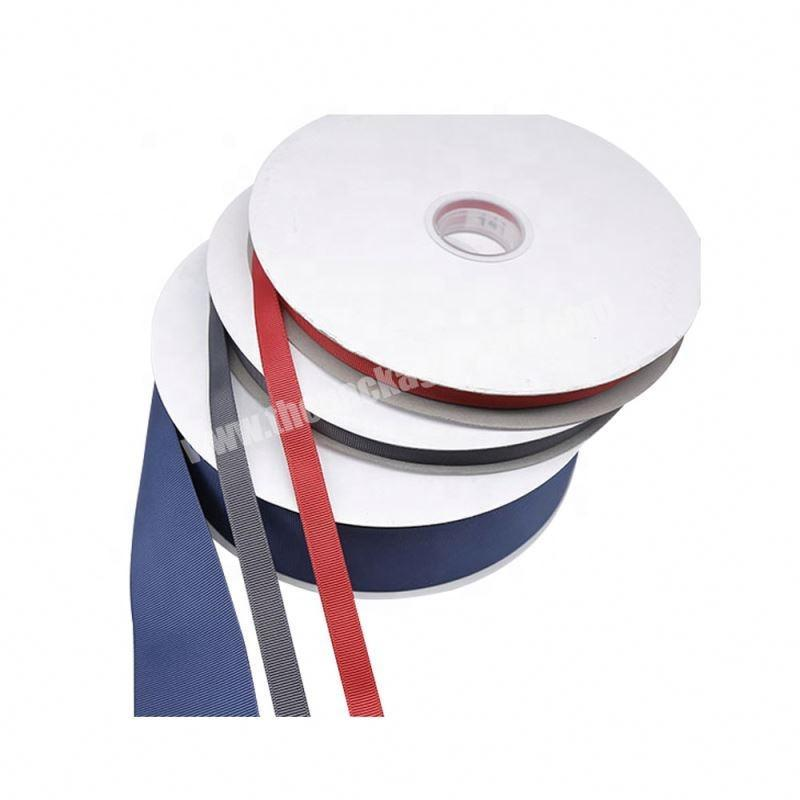 Factory High quality custom packing 75mm grosgrain ribbon