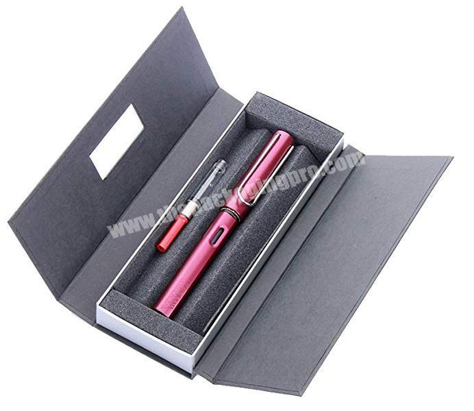 High quality customgift packing  pen   box with your  logo luxury gift paper cardboard pen box