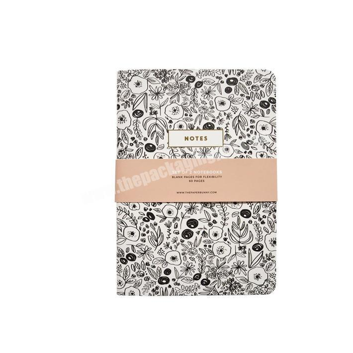 High quality customized a5 office supply hardcover notebook