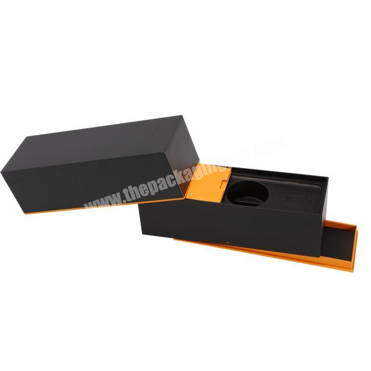 Custom High Quality Customized Creative Design Lid and Base Paper Box with Inner Tray for CigaretteElectronics