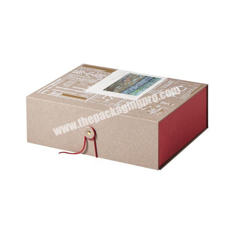 High quality customized paper packaging gift box