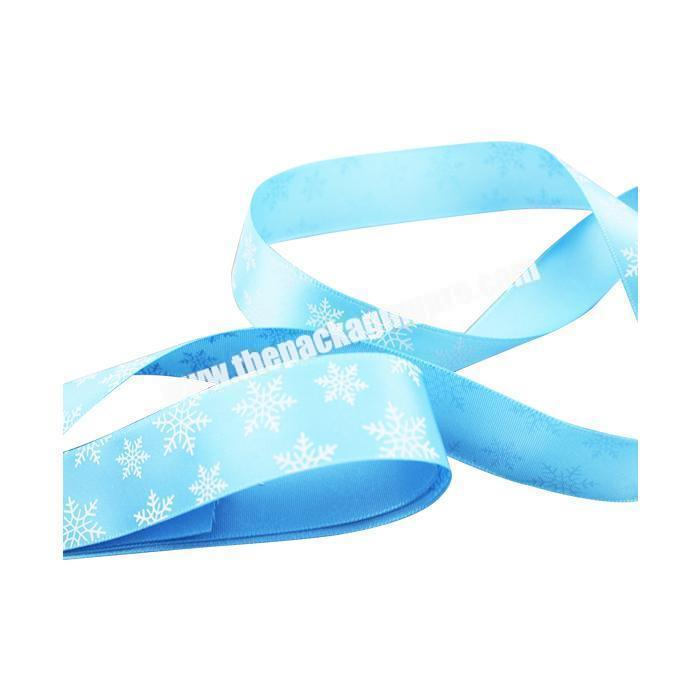 Factory High Quality Factory Custom Printed Polyester Satin Ribbon