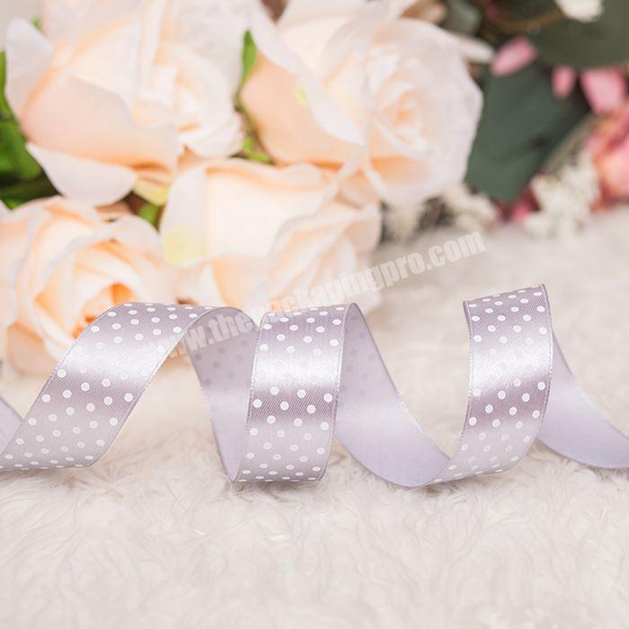 Factory High Quality Factory Promotional Printed Satin Ribbon For Clothes
