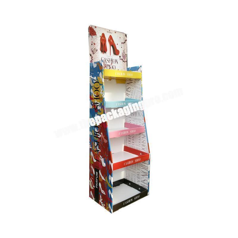 High quality kraft cardboard gem box display