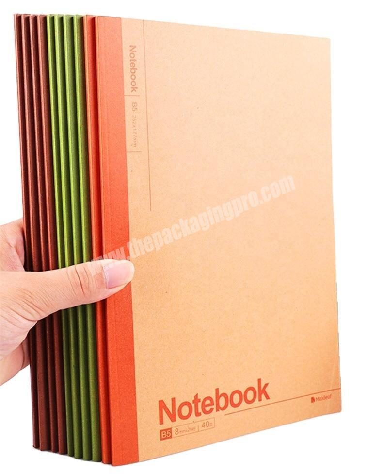 High Quality Manufacturer Customize Notebook promotional journal notebook for student
